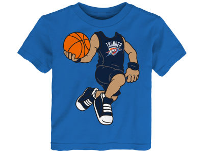 Oklahoma City Thunder Russell Westbrook Outerstuff NBA Infant Dunkin T-Shirt