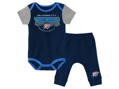 Oklahoma City Thunder Outerstuff NBA Infant Point Guard Pant Set