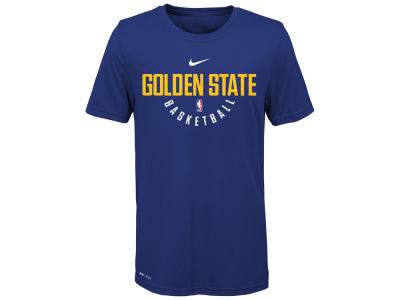 Golden State Warriors Nike NBA Youth Elite Practice T-Shirt