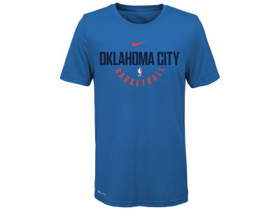 Oklahoma City Thunder Nike NBA Youth Elite Practice T-Shirt