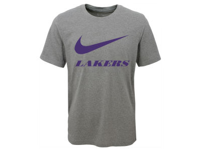 Los Angeles Lakers Nike NBA Youth Swoosh Team T-Shirt