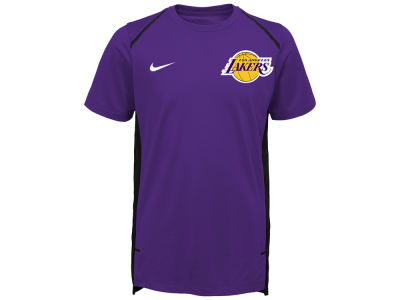 Los Angeles Lakers Nike NBA Youth Hyper Elite Shooter T- Shirt