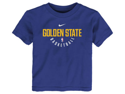Golden State Warriors Nike NBA Kids Elite Practice T-Shirt