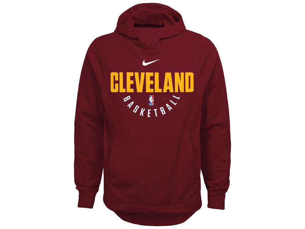 Cleveland Cavaliers Nike NBA Youth Elite Practice Hoodie  63b18b8437a
