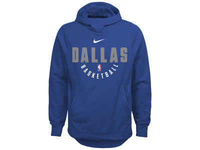 Dallas Mavericks Nike NBA Youth Elite Practice Hoodie