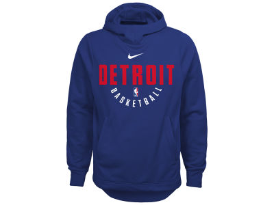 Detroit Pistons Nike NBA Youth Elite Practice Hoodie