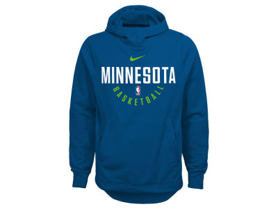 Minnesota Timberwolves Nike NBA Youth Elite Practice Hoodie