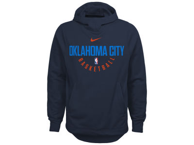 Oklahoma City Thunder Nike NBA Youth Elite Practice Hoodie