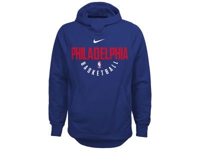 Philadelphia 76ers Nike NBA Youth Elite Practice Hoodie