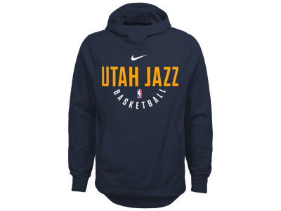 Utah Jazz Nike NBA Youth Elite Practice Hoodie