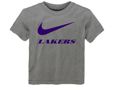 Los Angeles Lakers Nike NBA Toddler Swoosh Team T-Shirt