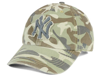 New York Yankees '47 MLB Camo Tarpoon '47 CLEAN UP Cap