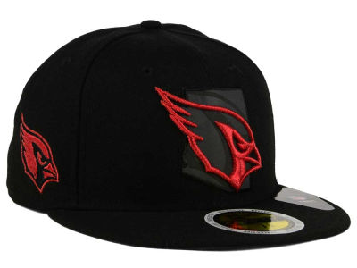 Arizona Cardinals New Era NFL State Flective Metallic 59FIFTY Cap
