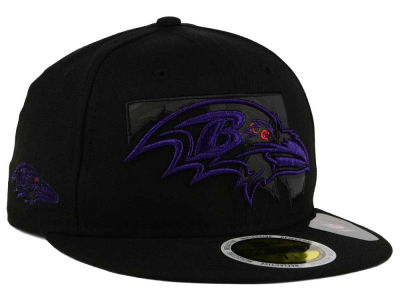 Baltimore Ravens New Era NFL State Flective Metallic 59FIFTY Cap