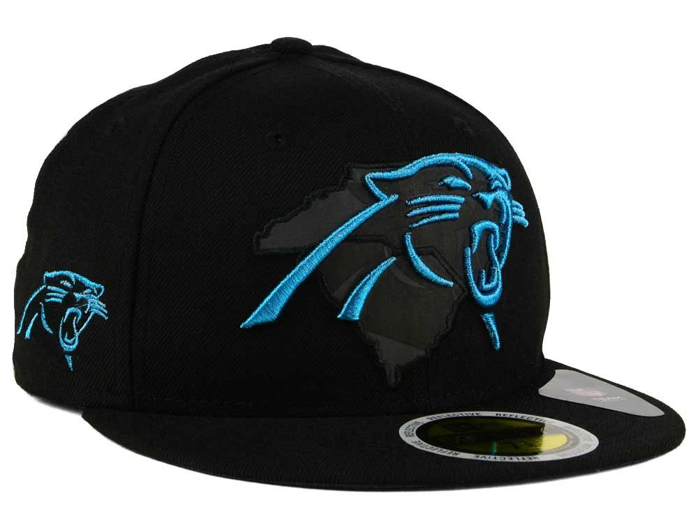 f411ef9042cfbe ... where to buy carolina panthers new era nfl state flective metallic 59fifty  cap 2fb5e d9c41