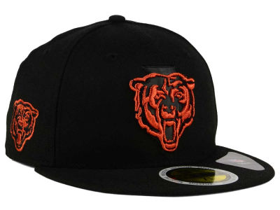 Chicago Bears New Era NFL State Flective Metallic 59FIFTY Cap