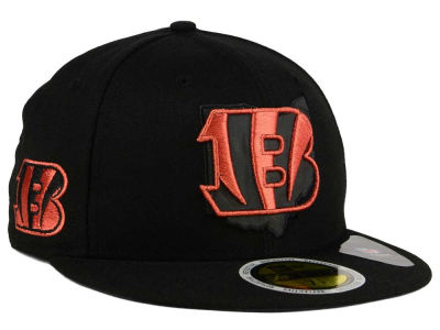 Cincinnati Bengals New Era NFL State Flective Metallic 59FIFTY Cap