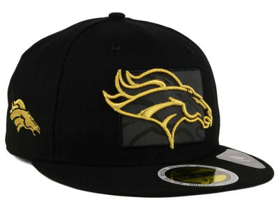 Denver Broncos New Era NFL State Flective Metallic 59FIFTY Cap