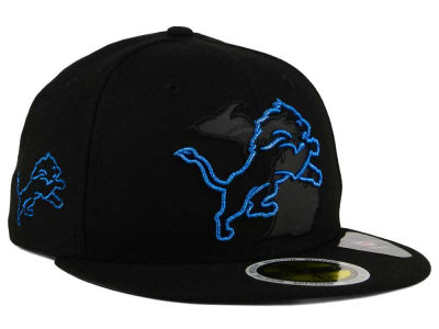 Detroit Lions New Era NFL State Flective Metallic 59FIFTY Cap