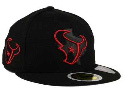 Houston Texans New Era NFL State Flective Metallic 59FIFTY Cap