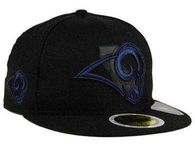 Los Angeles Rams New Era NFL State Flective Metallic 59FIFTY Cap