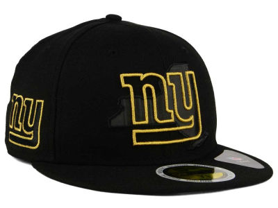 New York Giants New Era NFL State Flective Metallic 59FIFTY Cap