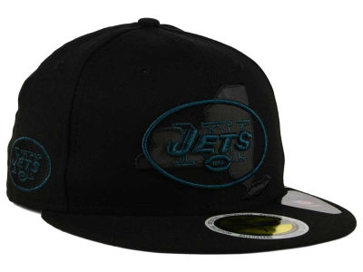 New York Jets New Era NFL State Flective Metallic 59FIFTY Cap