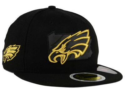 Philadelphia Eagles New Era NFL State Flective Metallic 59FIFTY Cap