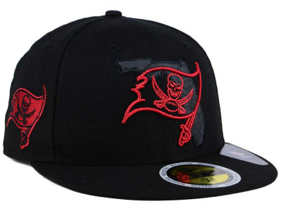 Tampa Bay Buccaneers New Era NFL State Flective Metallic 59FIFTY Cap