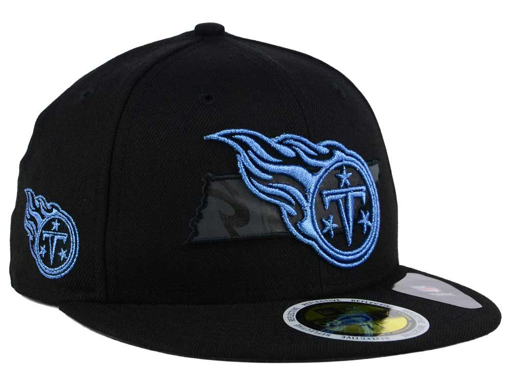 a0e3d10bf Tennessee Titans New Era NFL State Flective Metallic 59FIFTY Cap ...