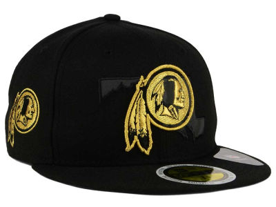 Washington Redskins New Era NFL State Flective Metallic 59FIFTY Cap