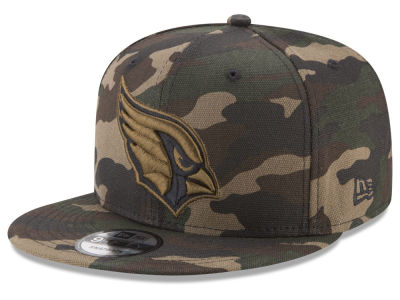 Arizona Cardinals New Era NFL Camo on Canvas 9FIFTY Snapback Cap