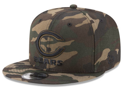 Chicago Bears New Era NFL Camo on Canvas 9FIFTY Snapback Cap