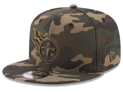 Tennessee Titans New Era NFL Camo on Canvas 9FIFTY Snapback Cap