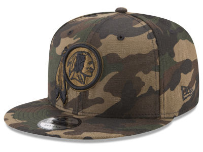 Washington Redskins New Era NFL Camo on Canvas 9FIFTY Snapback Cap