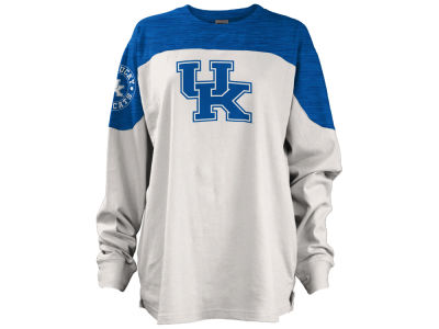 Kentucky Wildcats Pressbox NCAA Women's Cannondale Oversized Long Sleeve Shirt