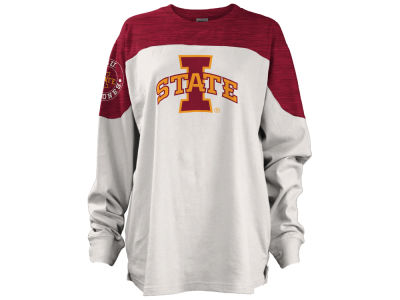 Iowa State Cyclones Pressbox NCAA Women's Cannondale Oversized Long Sleeve Shirt