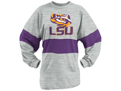 LSU Tigers Pressbox NCAA Women's Morehead Sweeper Long Sleeve T-Shirt