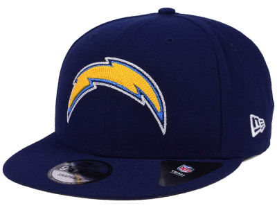 Los Angeles Chargers New Era NFL Chains 9FIFTY Snapback Cap