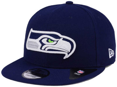 Seattle Seahawks New Era NFL Chains 9FIFTY Snapback Cap