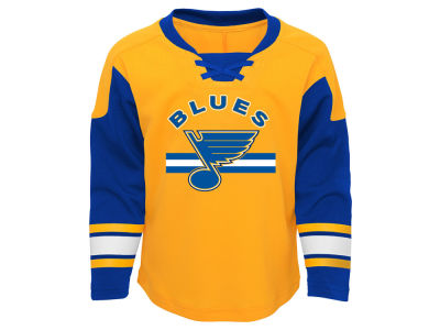 St. Louis Blues Outerstuff NHL Toddler Rink Rat Long Sleeve Pant Set