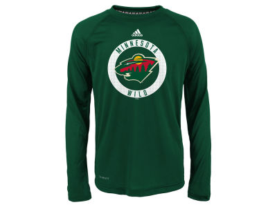 Minnesota Wild Outerstuff NHL Youth Practice Graphic Long Sleeve T-Shirt