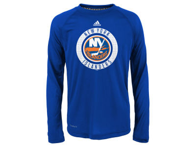New York Islanders Outerstuff NHL Youth Practice Graphic Long Sleeve T-Shirt