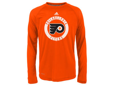 Philadelphia Flyers Outerstuff NHL Youth Practice Graphic Long Sleeve T-Shirt