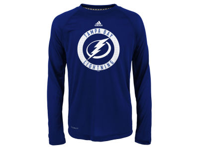Tampa Bay Lightning Outerstuff NHL Youth Practice Graphic Long Sleeve T-Shirt