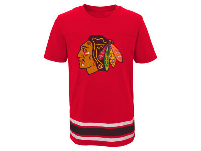 Chicago Blackhawks Outerstuff NHL Youth Captain T-Shirt
