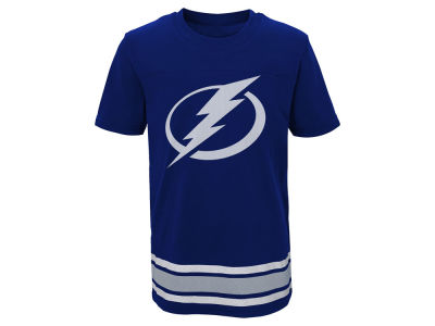 Tampa Bay Lightning Outerstuff NHL Youth Captain T-Shirt