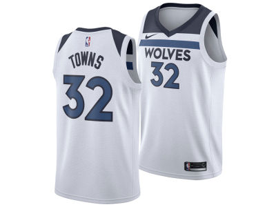 Minnesota Timberwolves Karl-Anthony Towns Nike NBA Men's Association Swingman Jersey