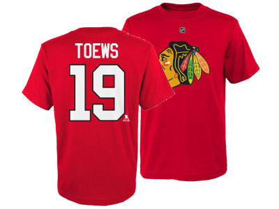 Chicago Blackhawks Jonathan Toews Outerstuff NHL Youth Player T-Shirt