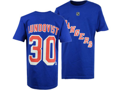 New York Rangers Henrik Lundqvist Outerstuff NHL Youth Player T-Shirt